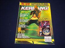 1990 DECEMBER 1 KERRANG! MAGAZINE - JUDAS PRIEST - MUSIC ISSUE - A 1705