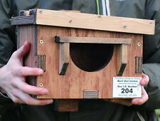 Robin Nest Box - Specially designed like a mini Owl Nest Box