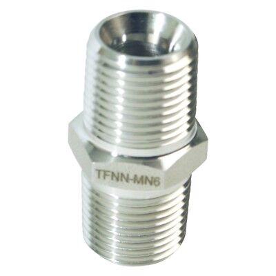 Threaded JIC Tee - Stainless Steel 316 MJIC 1//4 in Glacier Tanks