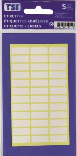 50 Blatt Größe Etiketten 10x 180 1800 8 x 21mm