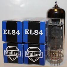 Matched Quad of Mullard EL84 / 6BQ5 Reissue tubes, NEW !