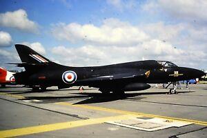 2-80-2-Hawker-Hunter-T7A-Royal-Air-Force-WV318-Kodachrome-Slide