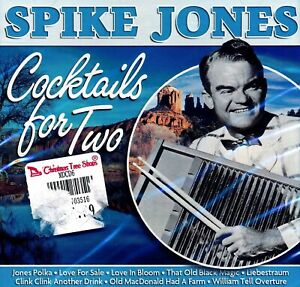 SPIKE-JONES-Cocktails-For-Two-2005-Dutch-Import-CD-SEALED