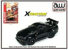 SC332-3R Auto World X-Traction Ultra G Slot Car 1999 Nissan Skyline GT-R R34