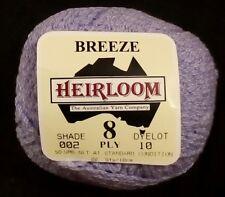 Heirloom Cotton 8 Ply #601 Black  100/% Cotton 50g