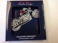 Studio Design Christmas Ornament Motorcycle