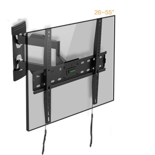 "Tilt Swivel TV Wall Mount Bracket 26 29 37 39 40 42 47 50 55/"" Inch Plasma LCD"