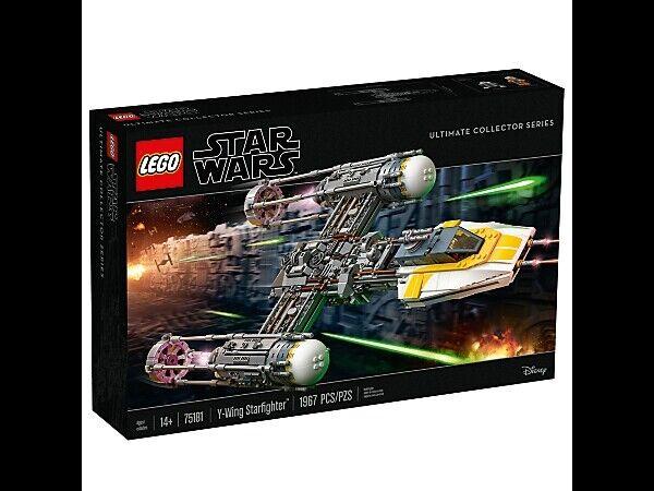 LEGO 75181  estrellaguerras Y-Wing estrellacombatiente è  -  Nuovo di Zecca SCATOLA SIGILLATA  consegna veloce UPS   distribuzione globale