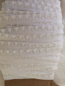 Image Is Loading Elastic Heart Lace Trim 8 Cents Yd 3