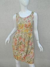 Paul by Paul Smith Dress Gold Floral jacquard Dress Sz IT 40, UK 8, US 2-4