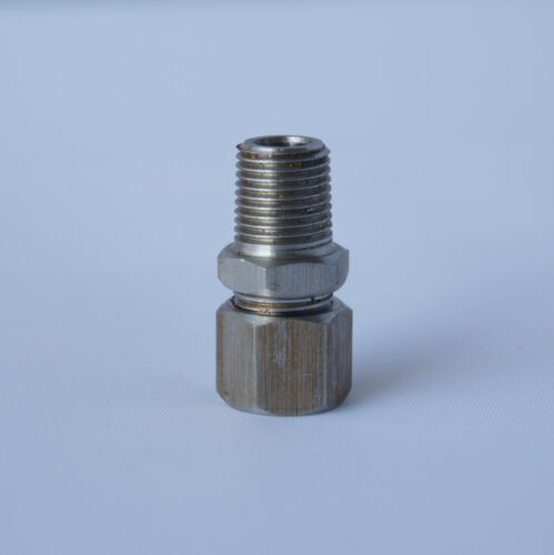 "Blue LED 2 Meter Cable EGT Exhaust Gas Temperature Gauge Kit 1//8/"" NPT"