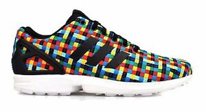 buy popular 7d7c2 1b8b6 Details about adidas Originals ZX Flux Trainers Multicolour