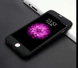 Funda-360-iPhone-7-8-plus-de-5-5-034-NEGRA-Cristal-Templado
