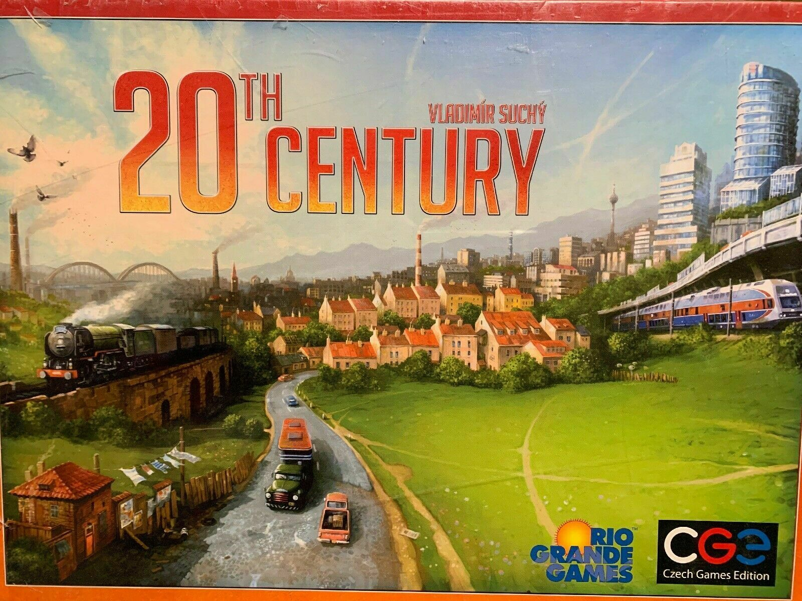 20th Century Board Game - NEW SEALED