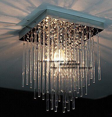 20cm Led Aisle Crystal Ceiling Light Fixture Pin Lamp Lighting Chandelier
