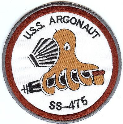 USS Argonaut SS 475 - 5 Octopus - BC Patch Cat No. c6816