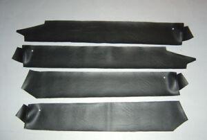 LH-LX-UC-Torana-4-Door-A9X-SLR-SL-GPAK-Interior-Door-TOP-Vinyls-BLACK