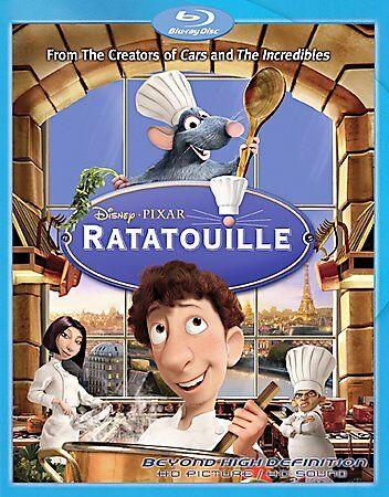 Ratatouille Blu-ray Disc, 2007 Walt Disney, Pixar, Patton Oswalt - $10.99