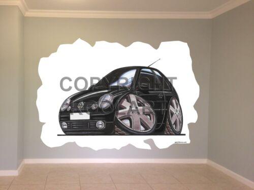 Huge Koolart Cartoon Vw Lupo Wall Sticker Poster Mural 2473