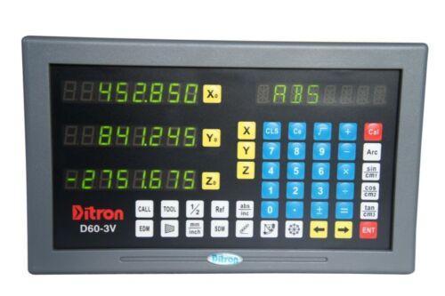 DITRON Glasmaßstab DC10//130 Maßstab EIA-422 DC10//500 mm NEU