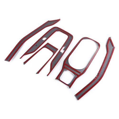 5pcs Porte-gobelet Cover Trim Frame pour Toyota Corolla Hatchback 2019-20
