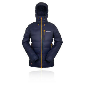 Blue Sports Full Zip Montane Mens Dyno Stretch Outdoor Jacket Top