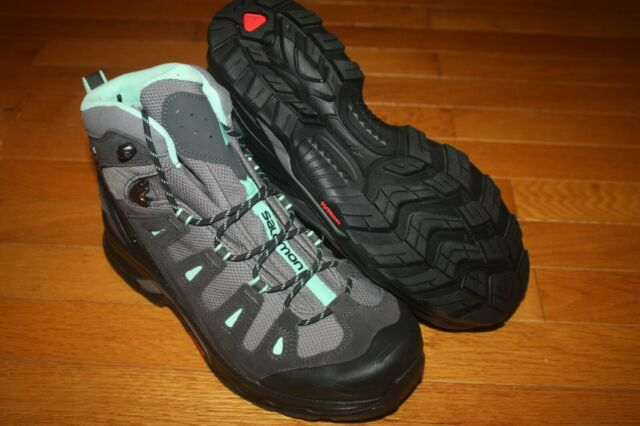 New In Box Salomon Women's Quest Prime GTX W Hiking Shoes 380889 SHIP FREE US