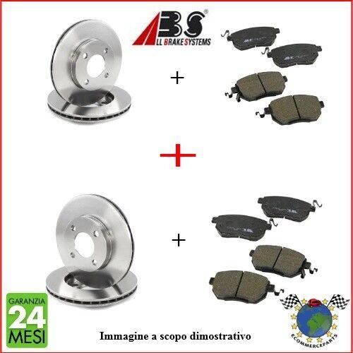 Kit Dischi e Pastiglie freno Ant e Post Abs ALFA ROMEO 90 75 ##c #p