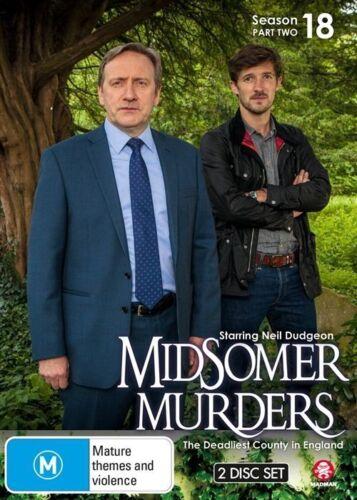 1 of 1 - Midsomer Murders : Season 18 : Part 2 (DVD, 2016, 2-Disc Set)