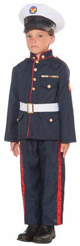 Boys Formal Marine Halloween Costume