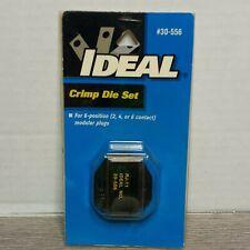 Ideal Crimp Die Set 30 556 Rj 11for Crimpmaster Tool