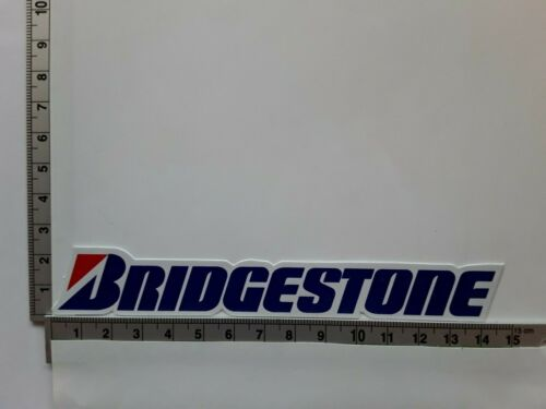 BRIDGESTONE MICHELIN TYRES MOTORSPORT RACING RALLY DECAL STICKERS x 2 UK SELLER