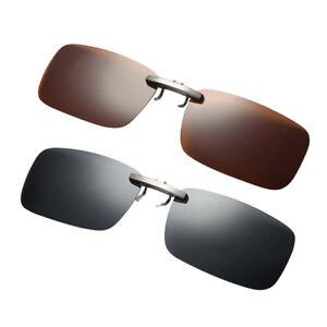 Chargement de l image en cours 2x-voiture-conduite-polarisee-UV-400 -lentille-clip- b5c32e07c208