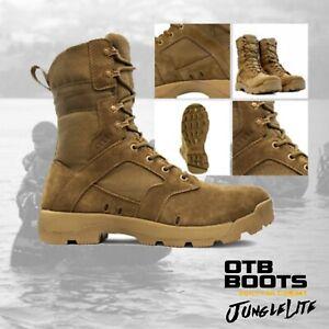 JUNGLELITE-COYOTE-AR670-OTB-Militaire-Tactique-Armee-Desert-Combat-Boot-5-13