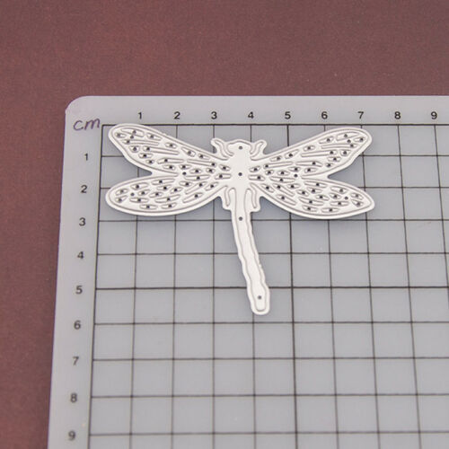 Dragonfly Metal Cutting Dies Stencil Scrapbooking Card Paper Embossing Craft ODH