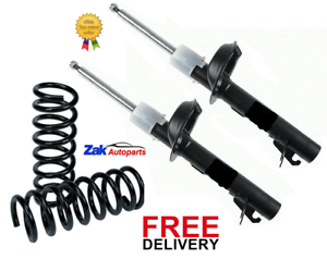 FORD FOCUS MK2 1.8 2.0 FRONT 2 SHOCK ABSORBERS /& 2 COIL SPRINGS *NEW*