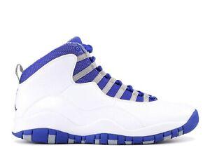 separation shoes 982b8 0ee2e Details about NIKE AIR JORDAN 10 RETRO ROYAL BLUE MENS SIZE 11 VNDS 100%  AUTHENTIC