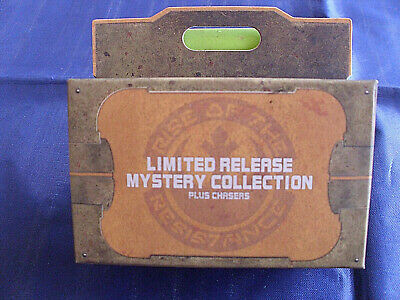 Disney Pins Star Wars Galaxy/'s Edge Rise of the Resistance Mystery 2 pin Box