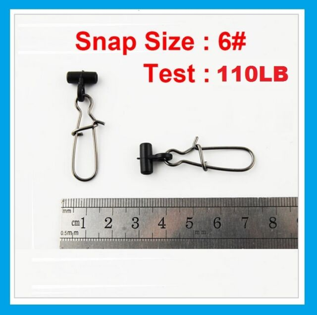 Eagle Claw 02162-102 Fishfinder Swivel Large Black BULK 144bg for sale online