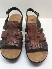 92ba7b1d22fe8e Clarks Bendables Lexi Marigold Q Leather Sandal Open Toe Pick Size