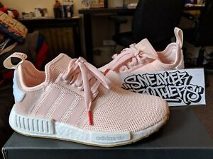 Details about Adidas NMD_R1 Runner W Nomad Women's Faded Pink White Red Gum Running BB7588