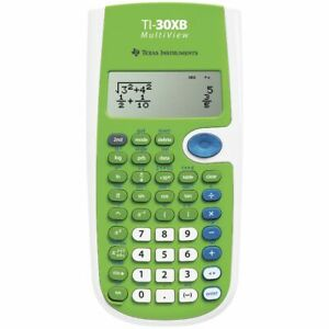 Texas-Instruments-Scientific-Calculator-TI-30XB-Multiview