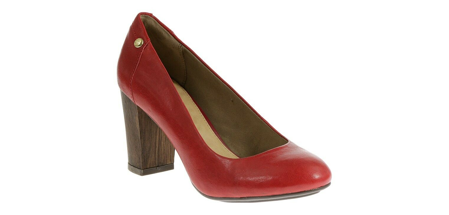 Hush Puppies rot sisany Damen Leder-Pumps