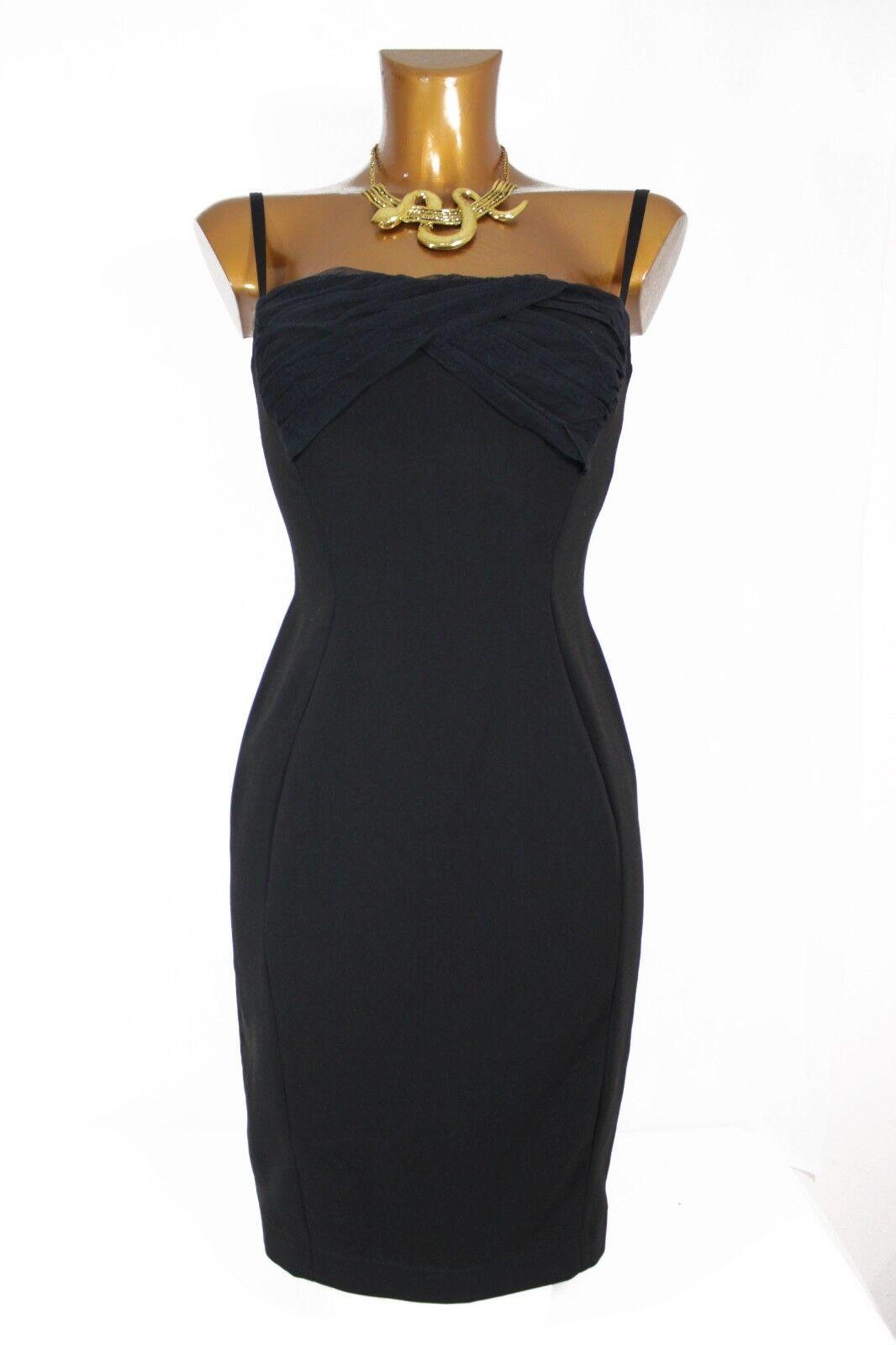 NEW WITH TAGS genuine Roberto Cavalli schwarz pencil dress Größe 40