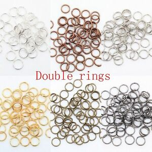 616f2f4c7 Wholesale Lots 200-450 Pcs Metal Split Rings 4/5/6/8/10/12mm Jewelry ...