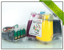 PIGMENT RIHAC CISS System for Epson Workforce 320 325 Cartridges 138 140 InkLink