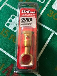 Banjo Screw and Fitting-Carburetor Fuel Inlet Fitting Edelbrock 8089
