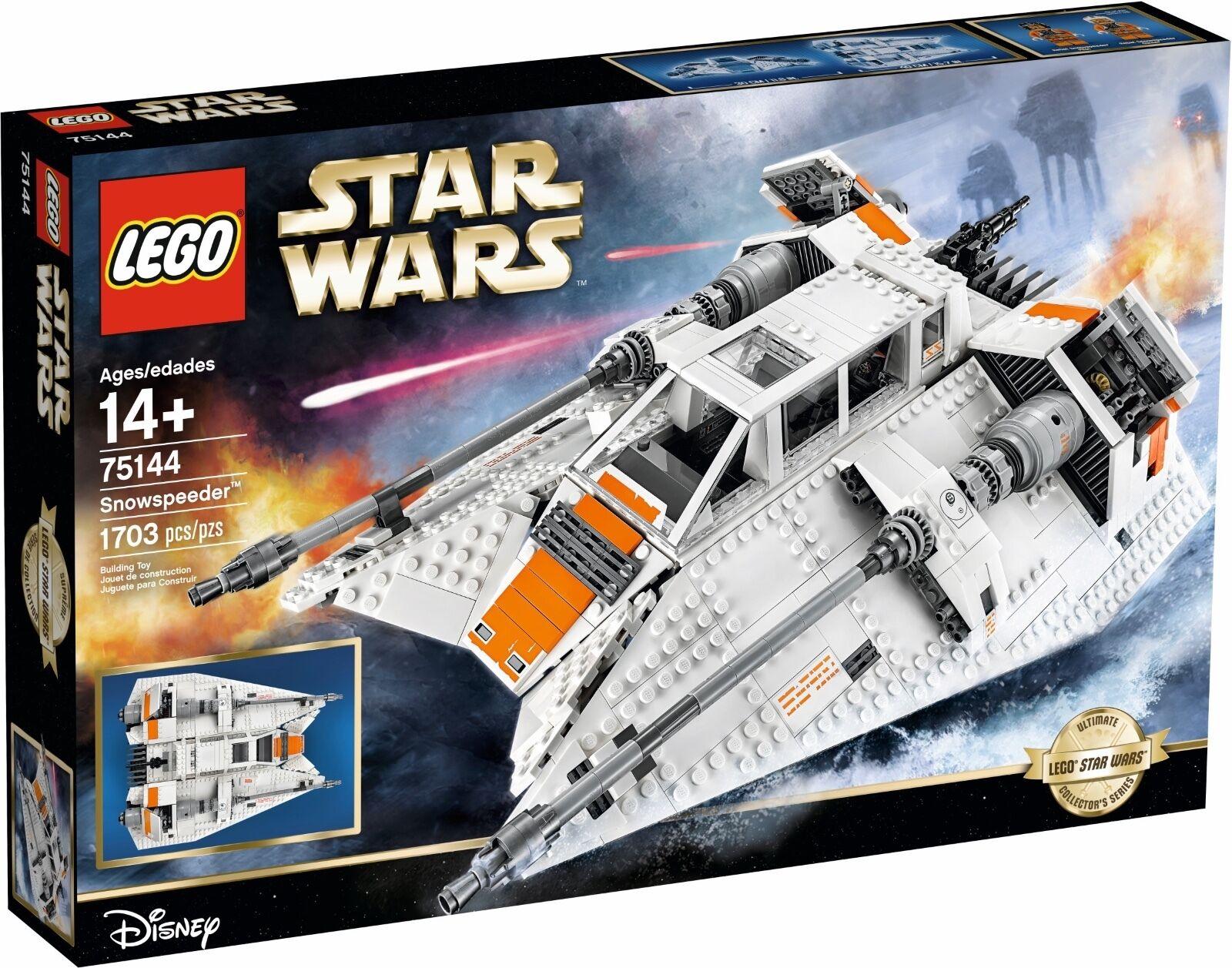 LEGO ® Star Wars ™ 75144 Snowspeeder ™ Nouveau neuf dans sa boîte NEW En parfait état, dans sa boîte scellée Boîte d'origine jamais ouverte