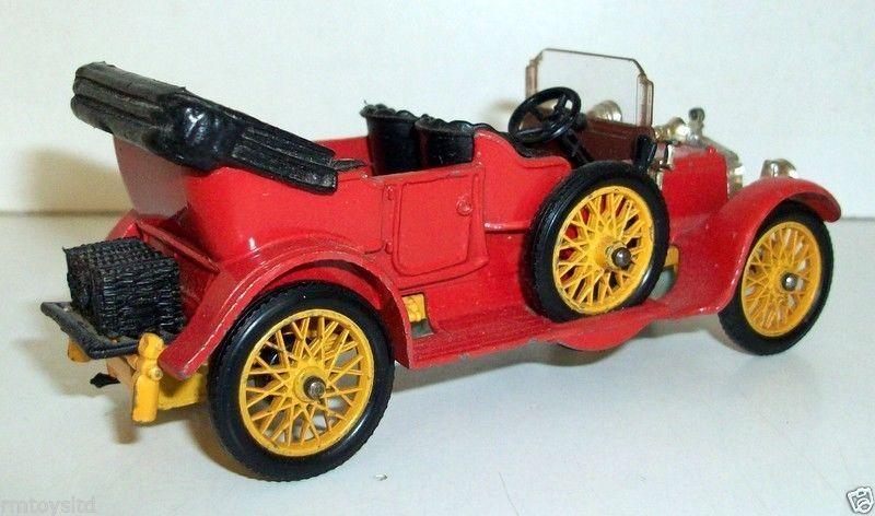 CORGI TOYS - 38 1910  DAIMLER - naranja   amarillo
