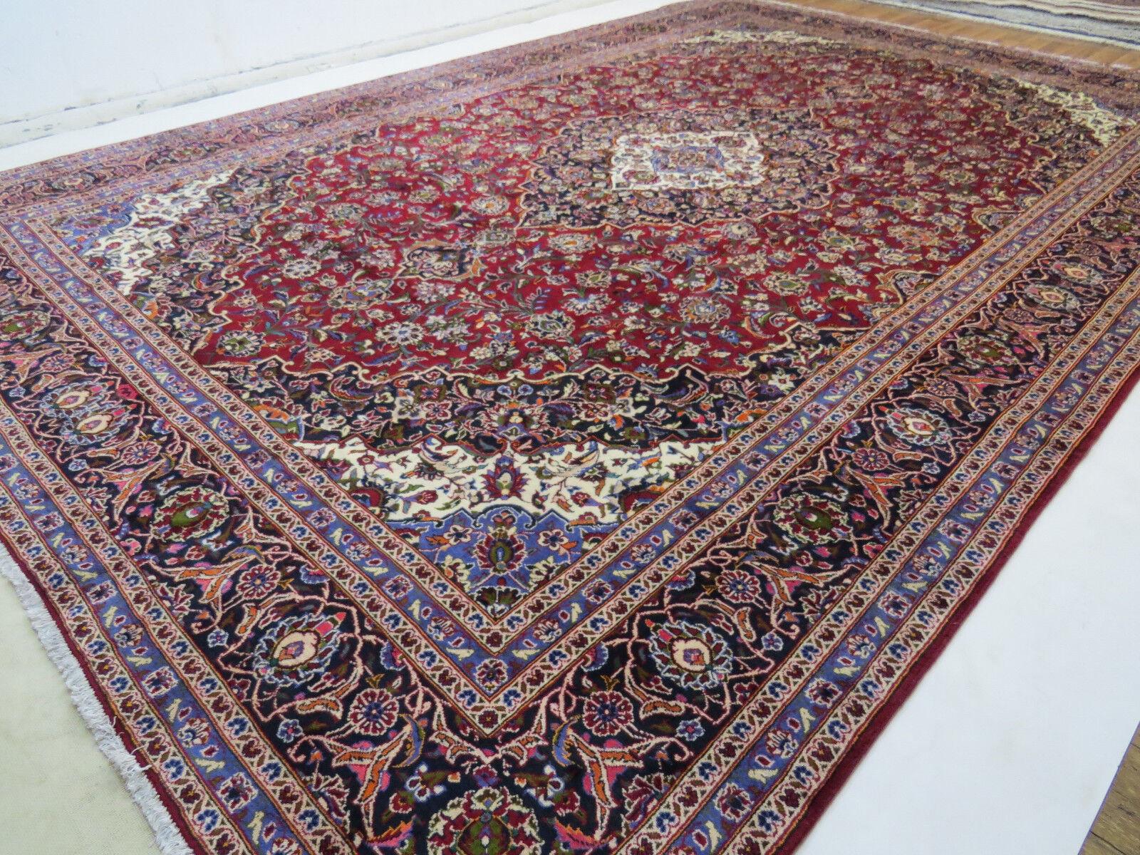 Superbe Beau Tapis oriental Nº 510x343 persan TOP NEUF Nº oriental 6278 Kashan 5e49ee